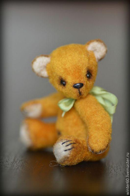 Мишки Тедди ручной работы. Ярмарка Мастеров - ручная работа. Купить Мишуля. Handmade. Оранжевый, мишка