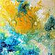 Абстракция ручной работы. Ярмарка Мастеров - ручная работа. Купить Абстрактная живопись. Venus.. Handmade. Желтый, абстракция, современное искусство