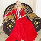 "Русский стиль handmade. Livemaster - original item Dress ""Jaromir"". Handmade."