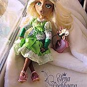 Куклы и пупсы ручной работы. Ярмарка Мастеров - ручная работа Весна, интерьерная кукла. Handmade.