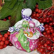 """Куклы и игрушки ручной работы. Ярмарка Мастеров - ручная работа Мотанка оберег """"Кубышка травница"""". Handmade."""