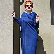 """Одежда ручной работы. Ярмарка Мастеров - ручная работа джинсовое платье """"КАТРИН"""". Handmade."""