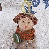 """Сувениры и подарки ручной работы. Ярмарка Мастеров - ручная работа Колокольчик """"Дама 20х. Handmade."""