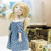 Куклы и игрушки ручной работы. Ярмарка Мастеров - ручная работа Авторская кукла Маруся (la-la-kukla). Handmade.