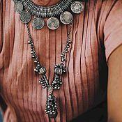 Украшения handmade. Livemaster - original item Gujarat Necklace 3 models. Handmade.
