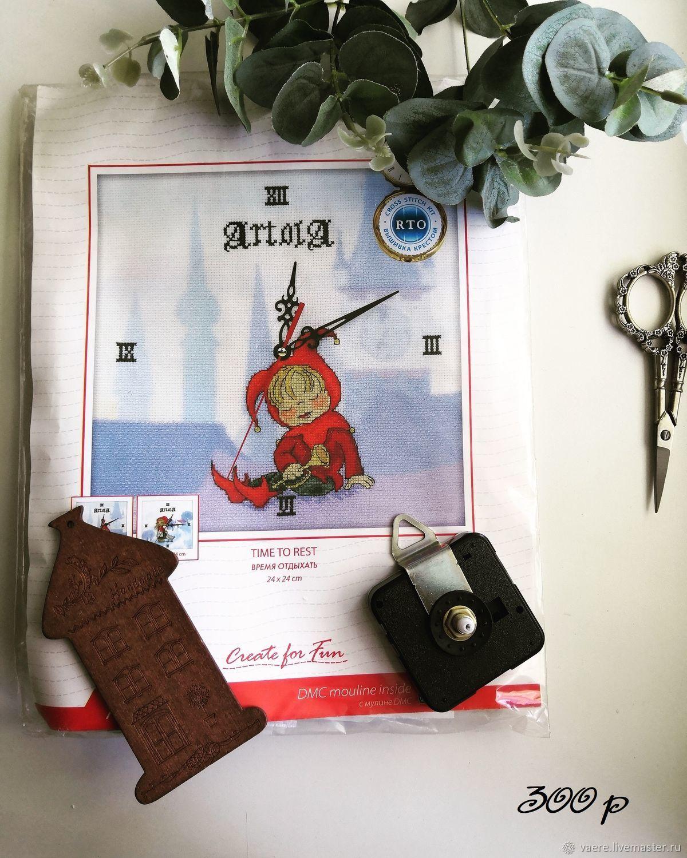 Набор для вышивания RTO M40004 Время отдыхать, Схемы для вышивки, Тула,  Фото №1