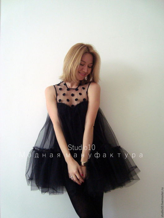 Платья ручной работы. Ярмарка Мастеров - ручная работа. Купить Маленькое чёрное платье. Handmade. Черный, нарядное платье