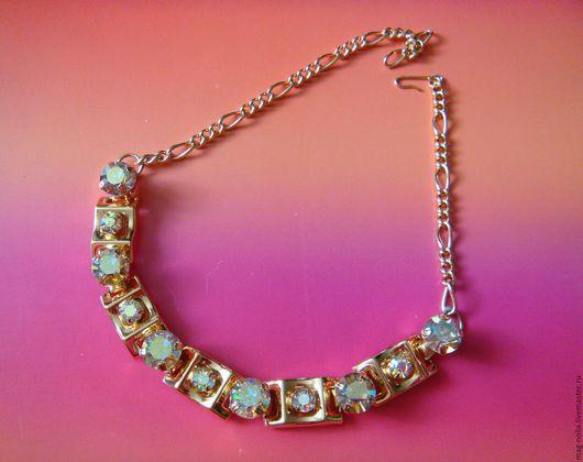 Винтажные украшения. Ярмарка Мастеров - ручная работа. Купить Колье Ожерелье Aurora Borealis 1960-е США. Handmade.