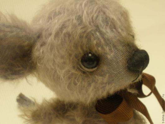 Мишки Тедди ручной работы. Ярмарка Мастеров - ручная работа. Купить Мышонок Энди. Handmade. Бледно-сиреневый, подарок