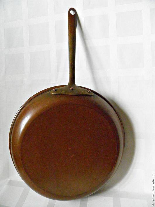 Винтажная посуда. Ярмарка Мастеров - ручная работа. Купить Винтажная сковорода Бельгия. Handmade. Сковорода, кухонный интерьер, кантри стиль