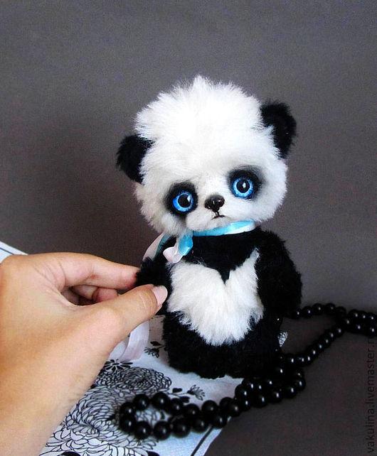 Мишки Тедди ручной работы. Ярмарка Мастеров - ручная работа. Купить панда Матео. Handmade. Чёрно-белый, медвежонок