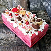 Для дома и интерьера handmade. Livemaster - original item The box is decorated with sweet Raspberry. Handmade.