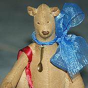 Куклы и игрушки ручной работы. Ярмарка Мастеров - ручная работа Медвежонок Аким. Handmade.