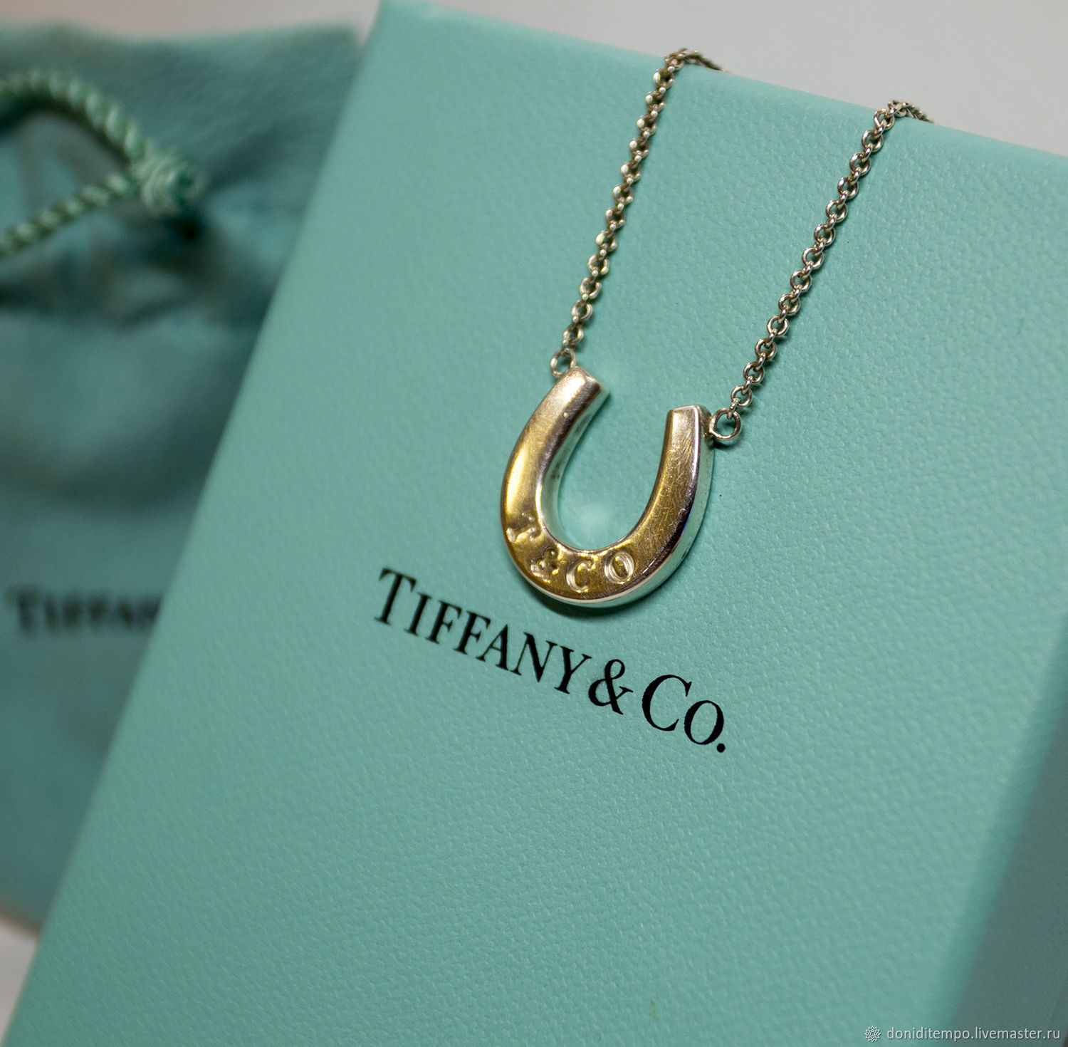 19f3fc312 Vintage Jewelry. Livemaster - handmade. Buy Tiffany & Co necklace 'Happy'  original ...
