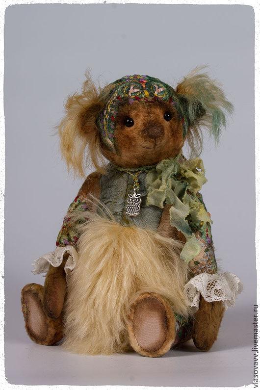 Мишки Тедди ручной работы. Ярмарка Мастеров - ручная работа. Купить Мишка Берта. Handmade. Комбинированный, единственный экземпляр