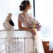 Одежда ручной работы. Ярмарка Мастеров - ручная работа Будуарный свадебный комплект (юбка, топ, кофточка). Handmade.