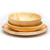 Посуда handmade. Livemaster - original item Dinner set (3#37. Handmade.