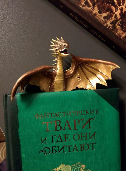 Закладки для книг ручной работы. Ярмарка Мастеров - ручная работа. Купить Закладка в виде ожившего персонажа из книги: Норвежская Хвосторога. Handmade.