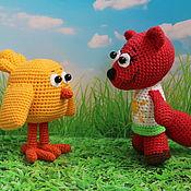 Куклы и игрушки handmade. Livemaster - original item Mimimishki Tsypa and Chanterelle. Handmade.