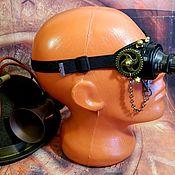 "Субкультуры handmade. Livemaster - original item Monocle Steampunk ""SCIENTIST CYBER-45"". Handmade."