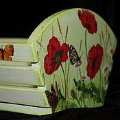 Для дома и интерьера ручной работы. Ярмарка Мастеров - ручная работа Корзиночка деревянная. Handmade.