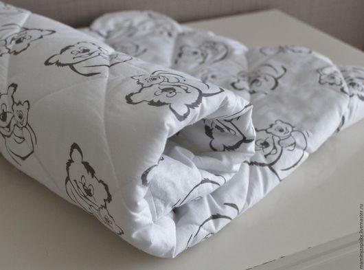 Для новорожденных, ручной работы. Ярмарка Мастеров - ручная работа. Купить Одеяло для новоржденного с ушками. Handmade. Одеяло, одеяло для девочки