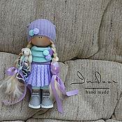 Тыквоголовка ручной работы. Ярмарка Мастеров - ручная работа Мия. Интерьерная текстильная кукла. Handmade.