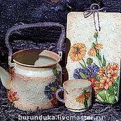 """Цветы и флористика ручной работы. Ярмарка Мастеров - ручная работа Кашпо """"Для бабушкиного сада"""". Handmade."""