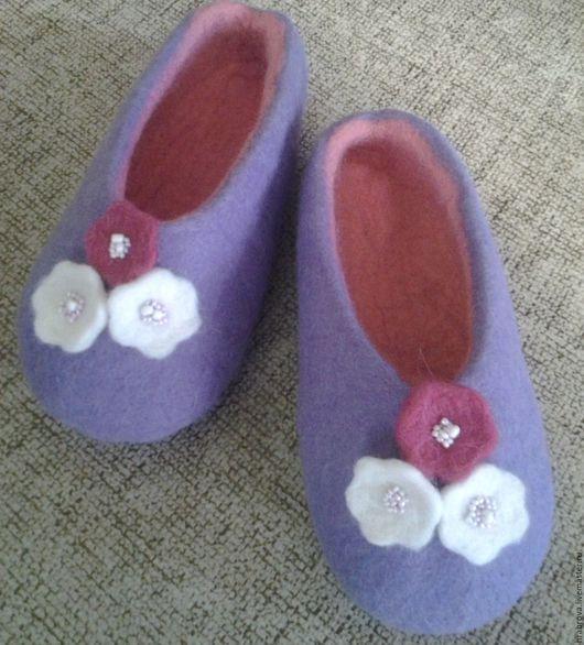 Обувь ручной работы. Ярмарка Мастеров - ручная работа. Купить Филки. Handmade. Тапочки ручной работы, тапочки для дома