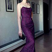 Одежда ручной работы. Ярмарка Мастеров - ручная работа вечернее платье корсетное. Handmade.