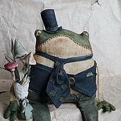 Куклы и игрушки ручной работы. Ярмарка Мастеров - ручная работа Фредерик и поганковый букет. Handmade.