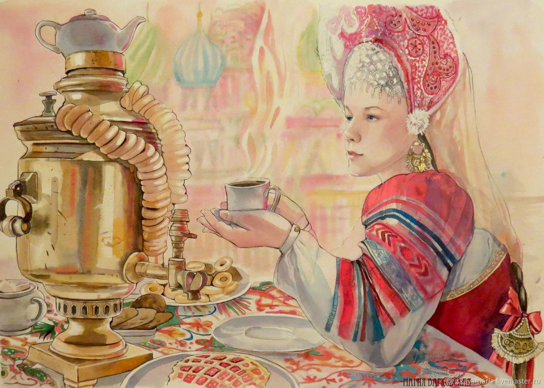 открытка ссср молодожены пьют чай одна уникальных