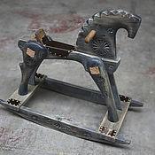 Игрушки ручной работы. Ярмарка Мастеров - ручная работа Конь качалка. Handmade.