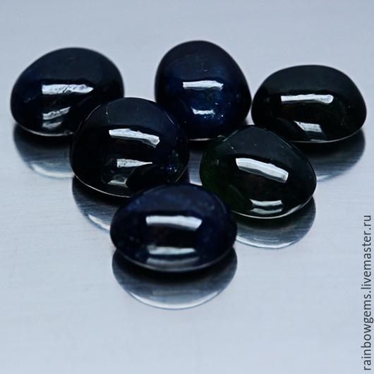 Для украшений ручной работы. Ярмарка Мастеров - ручная работа. Купить Натуральные синие сапфиры  6 шт  на  30,83 карат. Handmade.