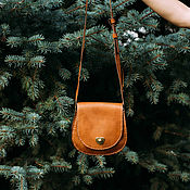 Classic Bag handmade. Livemaster - original item Handbag leather