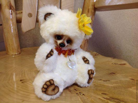 Мишки Тедди ручной работы. Ярмарка Мастеров - ручная работа. Купить Ванда. Handmade. Белый, мишка тедди, подарок девушке