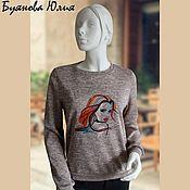 Одежда handmade. Livemaster - original item Sweatshirt girl. Handmade.