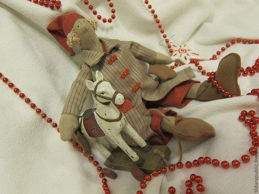 Куклы Тильды ручной работы. Ярмарка Мастеров - ручная работа. Купить Тильда Талви Новогодний. Handmade. Кукла Тильда