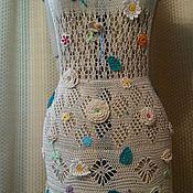 """Одежда ручной работы. Ярмарка Мастеров - ручная работа Платье-сарафан """"Чудо"""". Handmade."""