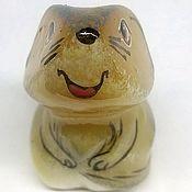 Камни ручной работы. Ярмарка Мастеров - ручная работа Крыса из камня селенит. Handmade.
