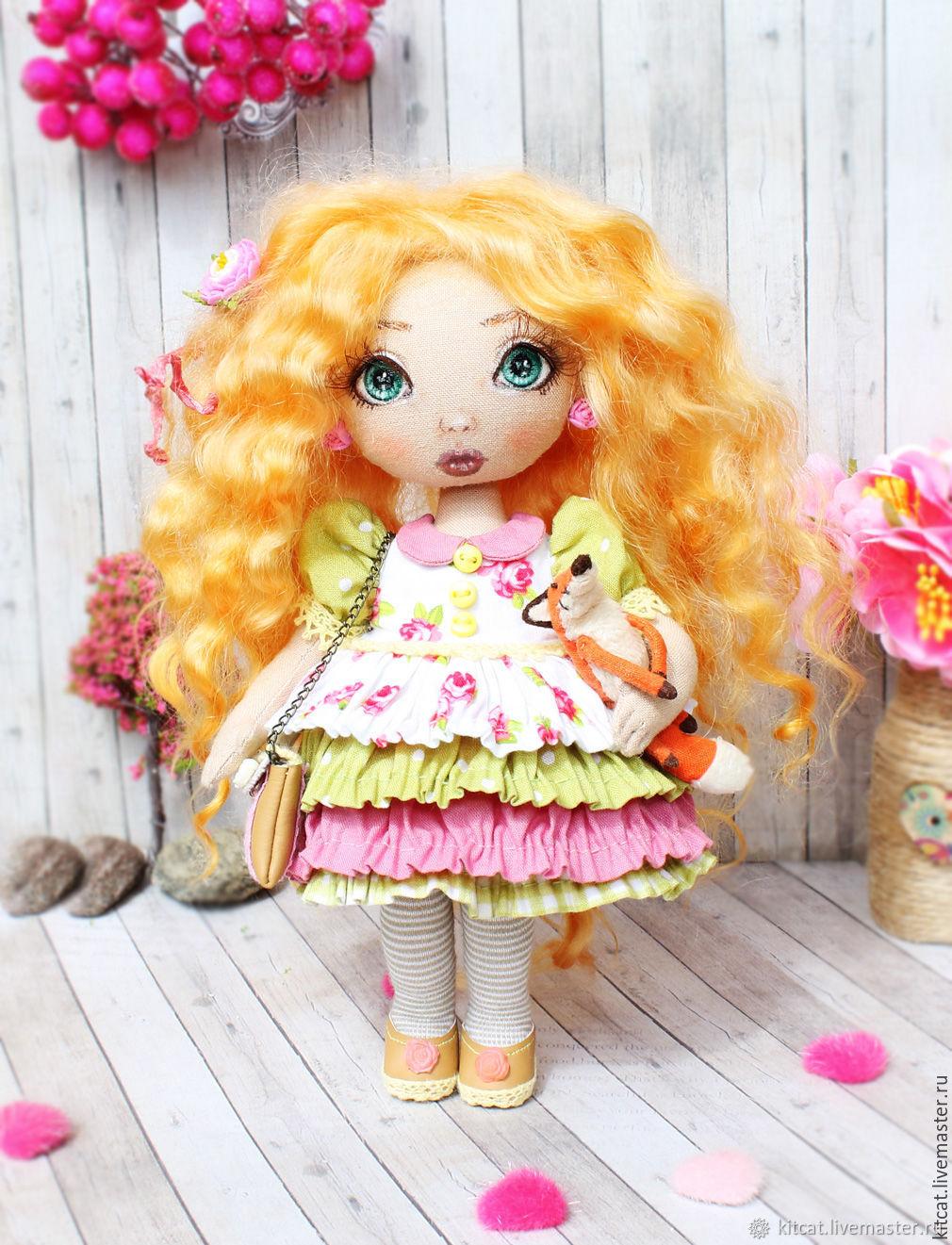 Розали - коллекционная куколка, Куклы и пупсы, Москва,  Фото №1