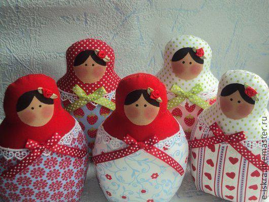 Куклы Тильды ручной работы. Ярмарка Мастеров - ручная работа. Купить Матрешки Тильда. Handmade. Матрешка, тильда кукла, розочки