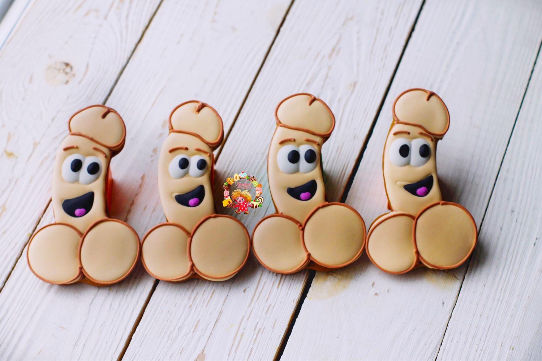 Печенье с прикольными картинками