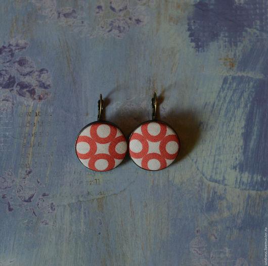 """Серьги ручной работы. Ярмарка Мастеров - ручная работа. Купить Серьги """"Circles"""". Handmade. Разноцветный, круглые серьги"""