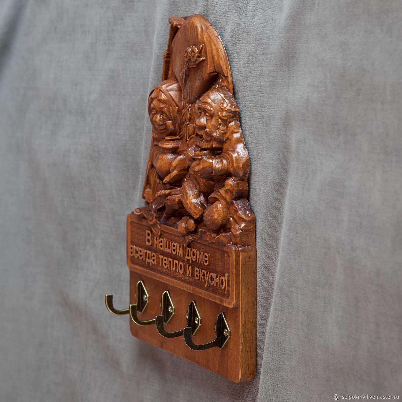 407348bd6c09 Комплекты аксессуаров ручной работы. Эксклюзивные подарок Изделия из  дерева. Ключница. СЕЛЬПО КМВ.