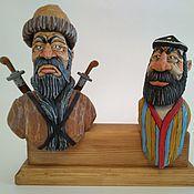 """Сувениры и подарки handmade. Livemaster - original item """"Золотая Орда"""", набор декоративных пробок для бутылок.. Handmade."""