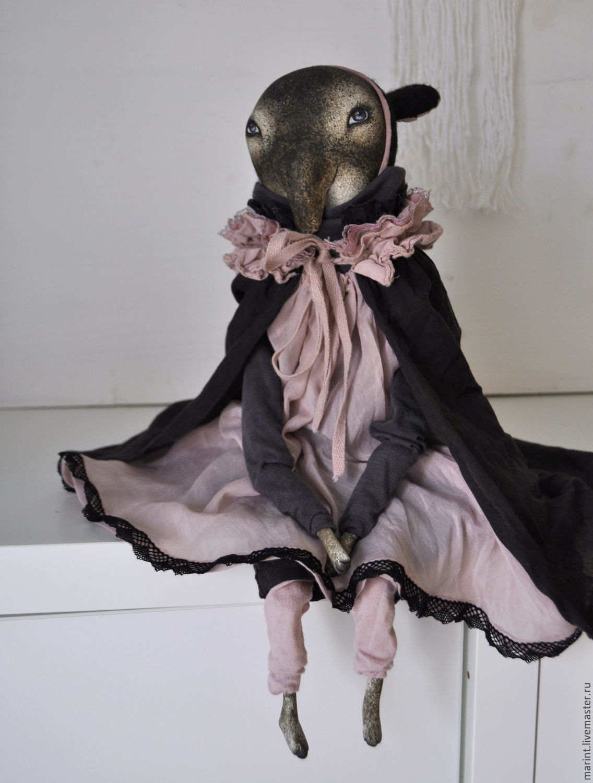 Коллекционные куклы ручной работы. Ярмарка Мастеров - ручная работа. Купить Интерьерная кукла тапир-вампир Агнесс. Handmade. Вампир
