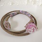 Украшения handmade. Livemaster - original item Necklace: FAVORITE ROSES.. Handmade.