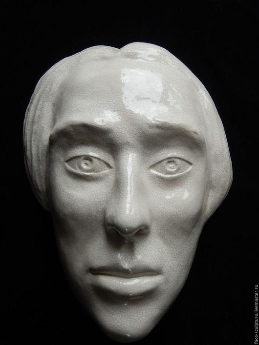 """Интерьерные  маски ручной работы. Ярмарка Мастеров - ручная работа. Купить """"Битва за самообладание"""". Handmade. Белый, интерьерное украшение"""