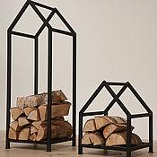 Для дома и интерьера ручной работы. Ярмарка Мастеров - ручная работа Дровница для камина или печи. Handmade.